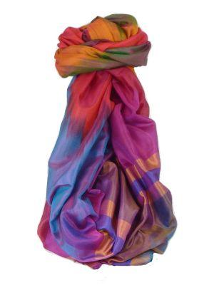 Varanasi Ekal Premium Silk Long Scarf Heritage Range Masood 3 by Pashmina & Silk