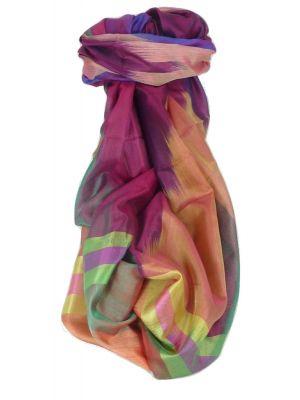 Varanasi Ekal Premium Silk Long Scarf Heritage Range Masood 4 by Pashmina & Silk