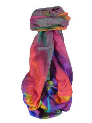 Varanasi Ekal Premium Silk Long Scarf Heritage Range Masood 6 by Pashmina & Silk