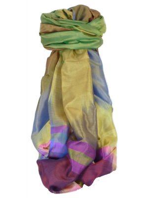 Varanasi Ekal Premium Silk Long Scarf Heritage Range Masood 7 by Pashmina & Silk