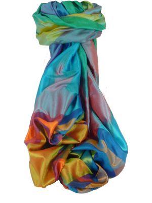 Varanasi Ekal Premium Silk Long Scarf Heritage Range Masood 8 by Pashmina & Silk