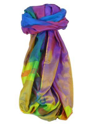 Varanasi Ekal Premium Silk Long Scarf Heritage Range Masood 10 by Pashmina & Silk