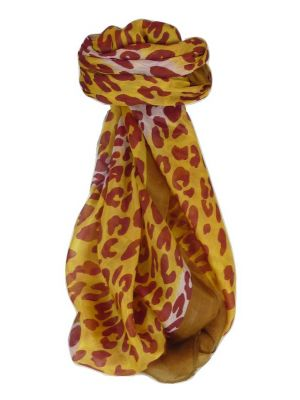 Mulberry Silk Contemporary Square Scarf Vansdar Chestnut by Pashmina & Silk