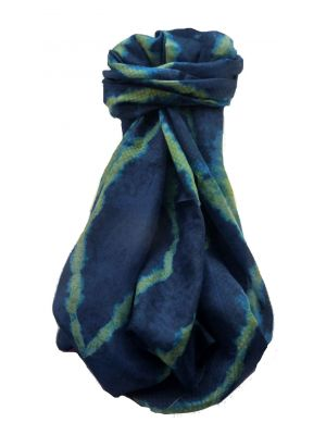 Mulberry Silk Contemporary Long Scarf Abstract A330 by Pashmina & Silk