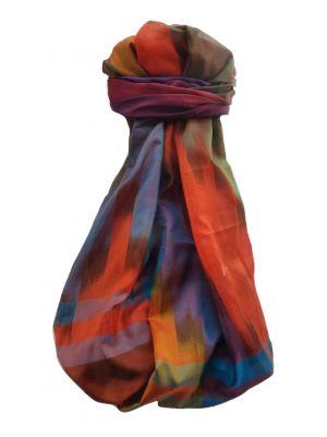Varanasi Ekal Premium Silk Long Scarf Heritage Range Suresh 5 by Pashmina & Silk