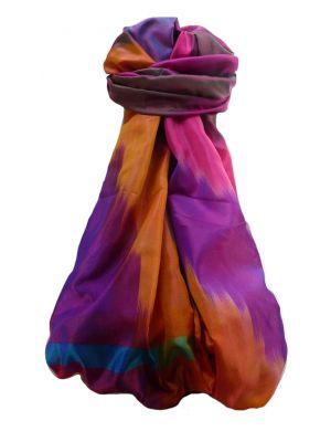 Varanasi Ekal Premium Silk Long Scarf Heritage Range Suresh 7 by Pashmina & Silk
