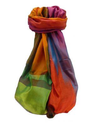 Varanasi Ekal Premium Silk Long Scarf Heritage Range Suresh 10 by Pashmina & Silk