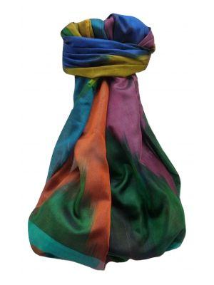 Varanasi Ekal Premium Silk Long Scarf Heritage Range Darsha 1 by Pashmina & Silk