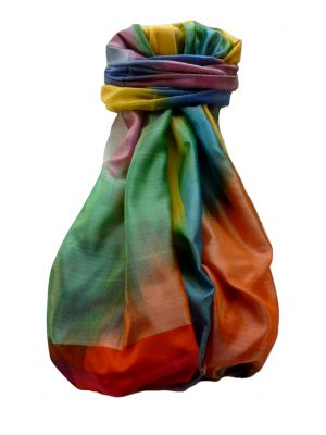 Varanasi Ekal Premium Silk Long Scarf Heritage Range Darsha 2 by Pashmina & Silk