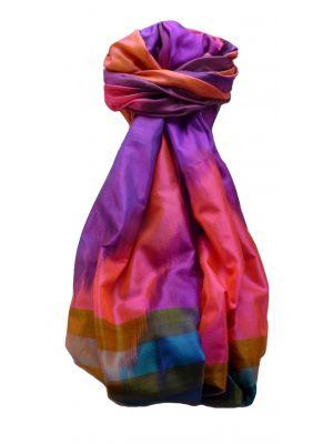 Varanasi Ekal Premium Silk Long Scarf Heritage Range Darsha 3 by Pashmina & Silk