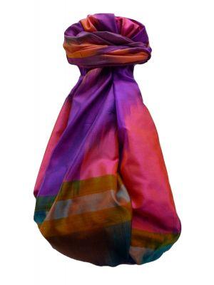 Varanasi Ekal Premium Silk Long Scarf Heritage Range Darsha 4 by Pashmina & Silk