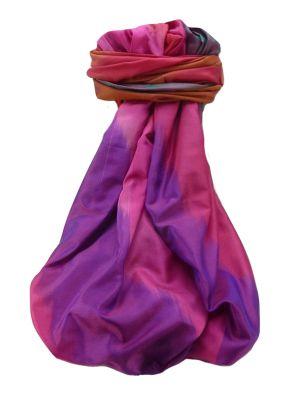 Varanasi Ekal Premium Silk Long Scarf Heritage Range Darsha 5 by Pashmina & Silk