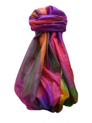 Varanasi Ekal Premium Silk Long Scarf Heritage Range Darsha 6 by Pashmina & Silk
