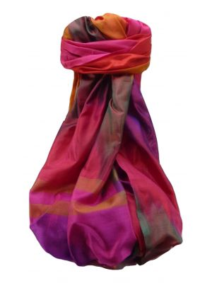 Varanasi Ekal Premium Silk Long Scarf Heritage Range Darsha 9 by Pashmina & Silk