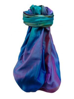 Varanasi Ekal Premium Silk Long Scarf Heritage Range Darsha 10 by Pashmina & Silk