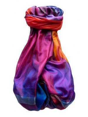 Varanasi Ekal Premium Silk Long Scarf Heritage Range Goel 2 by Pashmina & Silk