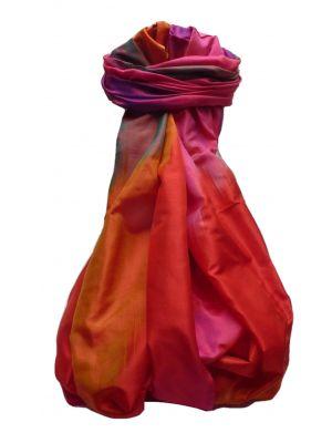 Varanasi Ekal Premium Silk Long Scarf Heritage Range Goel 5 by Pashmina & Silk