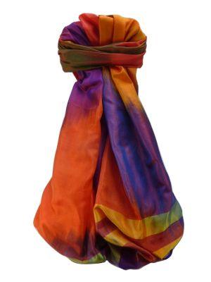 Varanasi Ekal Premium Silk Long Scarf Heritage Range Rai 2 by Pashmina & Silk