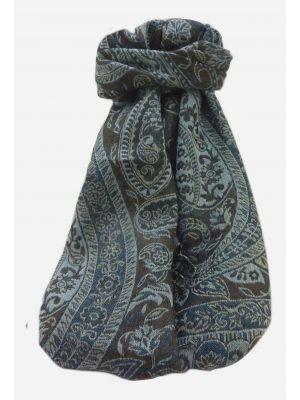 Muffler Scarf 6883 in Fine Pashmina Wool Heritage Range by Pashmina & Silk