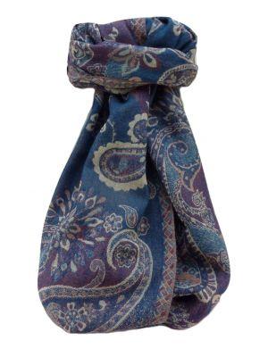 Muffler Scarf 6913 in Fine Pashmina Wool Heritage Range by Pashmina & Silk