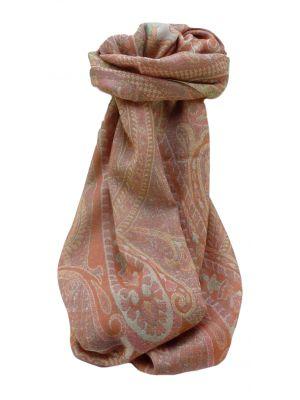Muffler Scarf 7033 in Fine Pashmina Wool Heritage Range by Pashmina & Silk