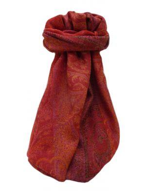 Muffler Scarf 7163 in Fine Pashmina Wool Heritage Range by Pashmina & Silk