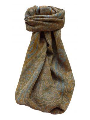 Muffler Scarf 7293 in Fine Pashmina Wool Heritage Range by Pashmina & Silk