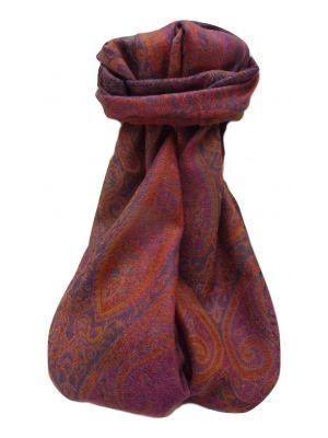 Muffler Scarf 7323 in Fine Pashmina Wool Heritage Range by Pashmina & Silk