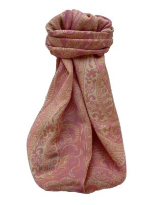 Muffler Scarf 7453 in Fine Pashmina Wool Heritage Range by Pashmina & Silk
