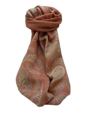 Muffler Scarf 7903 in Fine Pashmina Wool Heritage Range by Pashmina & Silk