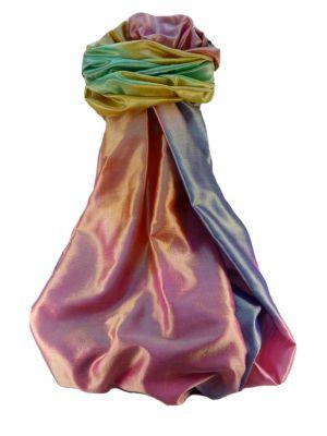 Varanasi Ekal Premium Silk Long Scarf Heritage Range Bandhi 4 by Pashmina & Silk