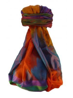 Varanasi Ekal Premium Silk Long Scarf Heritage Range Bandhi 5 by Pashmina & Silk