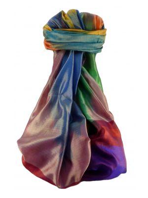 Varanasi Ekal Premium Silk Long Scarf Heritage Range Bandhi 7 by Pashmina & Silk