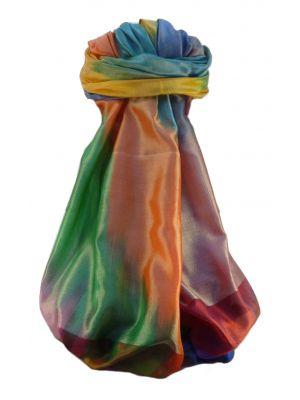 Varanasi Ekal Premium Silk Long Scarf Heritage Range Bandhi 8 by Pashmina & Silk