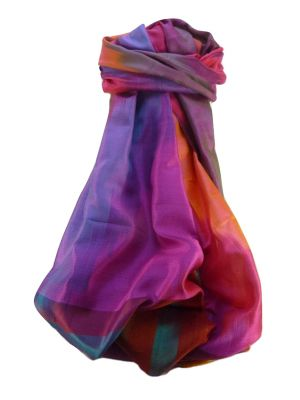 Varanasi Ekal Premium Silk Long Scarf Heritage Range Saraf 1 by Pashmina & Silk