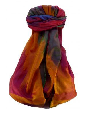 Varanasi Ekal Premium Silk Long Scarf Heritage Range Saraf 2 by Pashmina & Silk