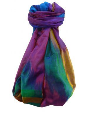 Varanasi Ekal Premium Silk Long Scarf Heritage Range Saraf 3 by Pashmina & Silk