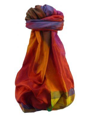 Varanasi Ekal Premium Silk Long Scarf Heritage Range Saraf 5 by Pashmina & Silk
