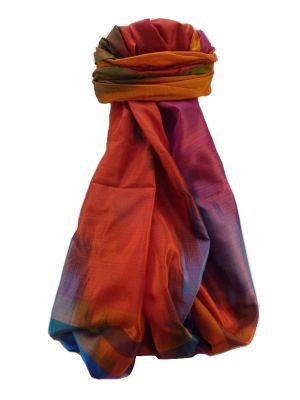 Varanasi Ekal Premium Silk Long Scarf Heritage Range Saraf 6 by Pashmina & Silk