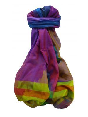 Varanasi Ekal Premium Silk Long Scarf Heritage Range Saraf 7 by Pashmina & Silk
