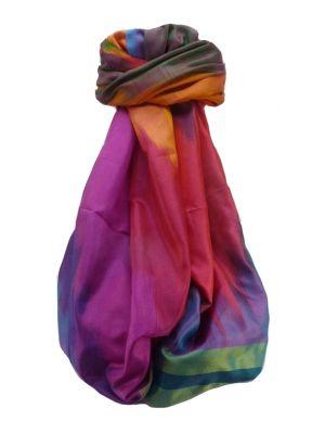 Varanasi Ekal Premium Silk Long Scarf Heritage Range Saraf 8 by Pashmina & Silk