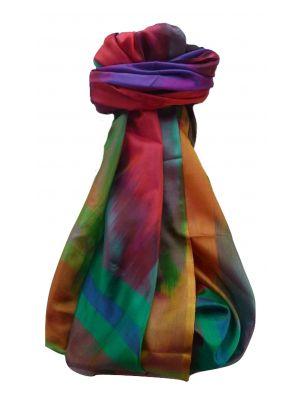 Varanasi Ekal Premium Silk Long Scarf Heritage Range Saraf 10 by Pashmina & Silk