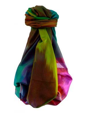 Varanasi Ekal Premium Silk Long Scarf Heritage Range Singh 1 by Pashmina & Silk