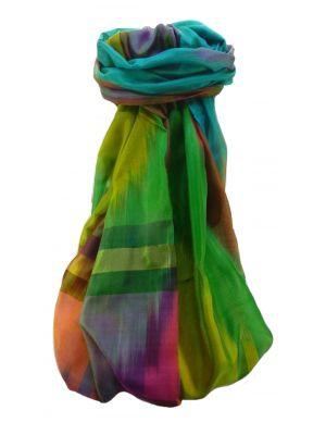 Varanasi Ekal Premium Silk Long Scarf Heritage Range Singh 5 by Pashmina & Silk