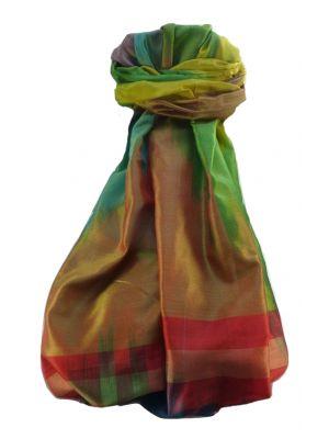Varanasi Ekal Premium Silk Long Scarf Heritage Range Singh 8 by Pashmina & Silk