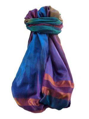 Varanasi Ekal Premium Silk Long Scarf Heritage Range Singh 9 by Pashmina & Silk