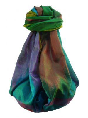 Varanasi Ekal Premium Silk Long Scarf Heritage Range Singh 10 by Pashmina & Silk