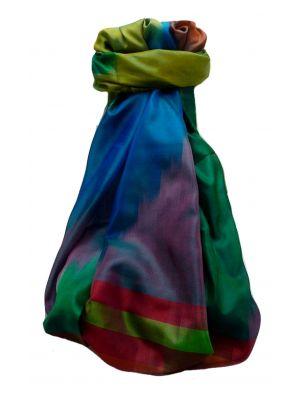 Varanasi Ekal Premium Silk Long Scarf Heritage Range Suresh 1 by Pashmina & Silk