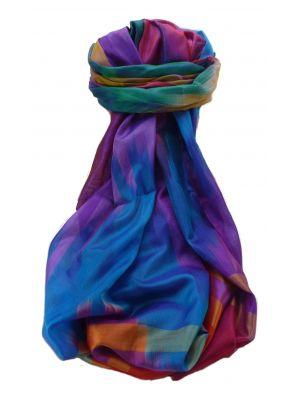 Varanasi Ekal Premium Silk Long Scarf Heritage Range Gopal 8 by Pashmina & Silk