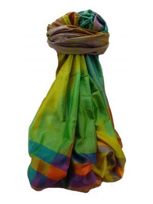 Varanasi Ekal Premium Silk Long Scarf Heritage Range Gopal 10 by Pashmina & Silk